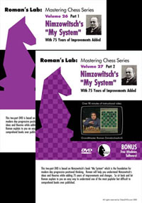"Vol.26 & 27 Nimzowitch's ""My System"""