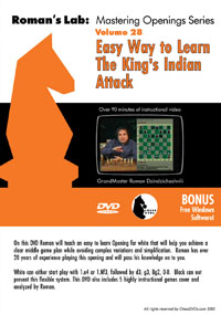 Vol.28 The King's Indian Attack