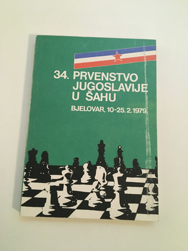 34.Prvenstvo Jugoslavije u sahu