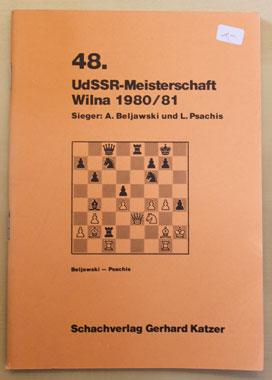 48. UdSSR-Meisterschaft Wilna 1980/81