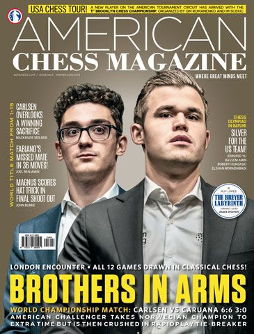 American Chess Magazine no. 9: Brothers in Arms