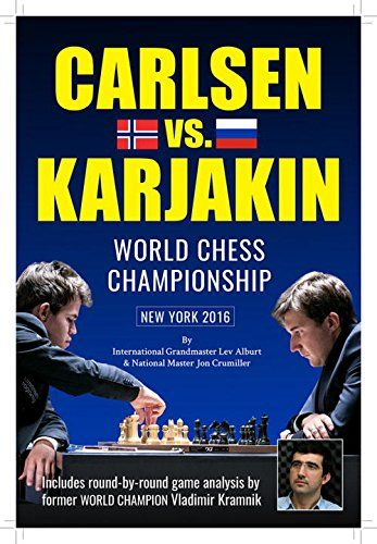 Carlsen vs. Karjakin: World Chess Championship New York, 2016