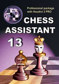 Chess Assistant 13 Professional + Houdini 3 PRO [DVD]