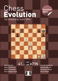 Chess Evolution November 2011 - Edited by Arkadij Naiditsch