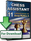 Chess Assistant 11 Professional + Deep Rybka 4 [↓]