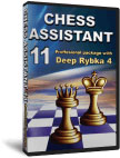 Chess Assistant 11 Professional + Deep Rybka 4 Upgrade [DVD]