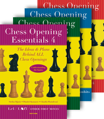 Chess Opening Essentials Vol: 1, 2, 3 & 4