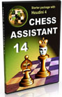 Chess Assistant 14 Starter + Houdini 4 Upgrade [DVD]