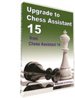 Chess Assistant 15 Upgrade from CA 13 or older [DVD]