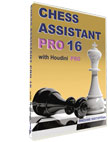 Chess Assistant 16 PRO with Houdini 4 PRO [DVD]