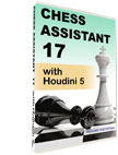 Chess Assistant 17 with Houdini 5 [DVD]