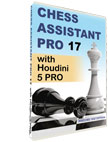 Chess Assistant 17 PRO with Houdini 5 PRO [DVD]