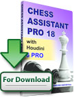 Chess Assistant 18 PRO with Houdini 6 PRO Upgrade [Download]
