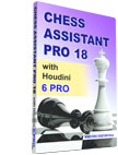 Chess Assistant 18 PRO with Houdini 6 PRO Upgrade [DVD]