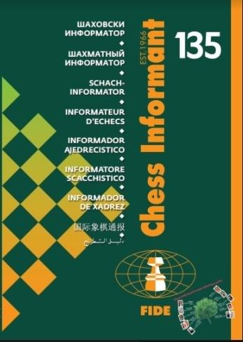 Chess Informant 135: Including Gibraltar Chess Festival