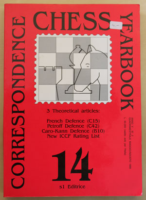 Correspondence Chess Yearbook 14