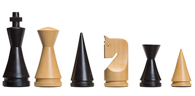 DGT Modern Staunton weighted Chesspieces