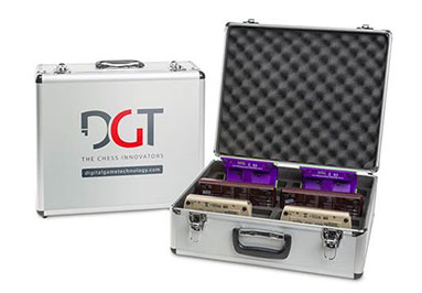 DGT aluminum clock-storage case