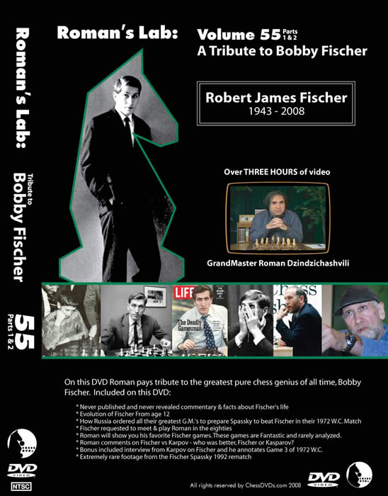 Vol.55 A Tribute to Bobby Fischer