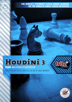 HOUDINI 3 - Pro with Deep Fritz 13 GUI