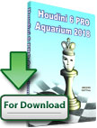 Schachsoftware Houdini 6 Pro Aquarium 2018 [Download]