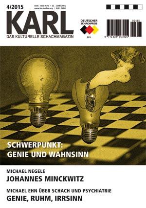 Schachzeitschrift KARL 04 2015