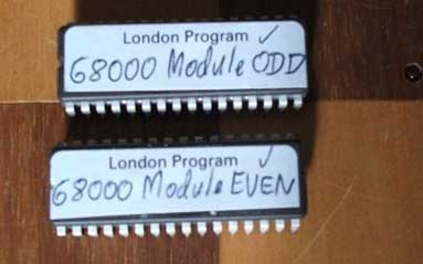Mephisto Schachcomputer London Upgrade EPROM