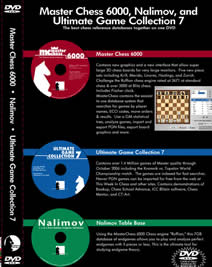 The 3 DVD MasterChess 6000 Package