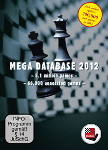 Mega Database 2012 Schachdatenbank
