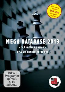 Upgrade Mega Database 2013 von Mega 2012
