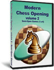 Modern Chess Opening, vol. II, Semi-Open Games (1.e4)