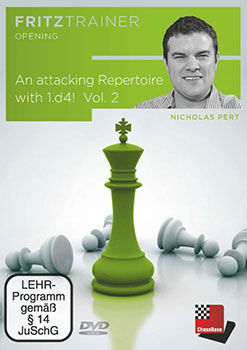 Nicholas Pert: An attacking Repertoire with 1.d4 - Part 2