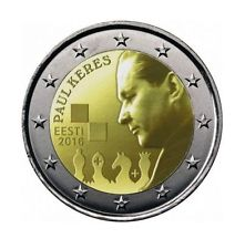 Paul Keres 2 Euro Collector Coin - limited Edition