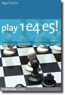 Play 1 e4 e5!: A complete repertoire for Black (eBook-CBV)