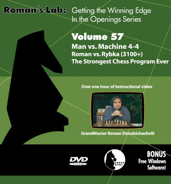 Vol.57 Man vs. Machine / Roman vs. Rybka