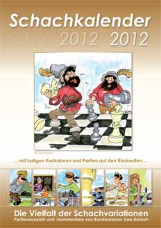 Schachkalender 2012 Cartoon