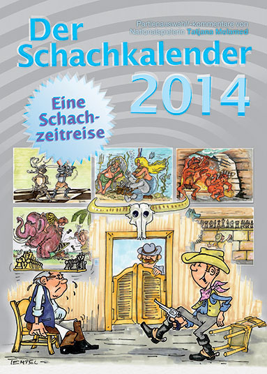 Schachkalender 2014 Cartoon