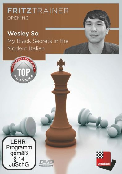 Wesley So: My Black Secrets in the Modern Italian: Fritztrainer Opening