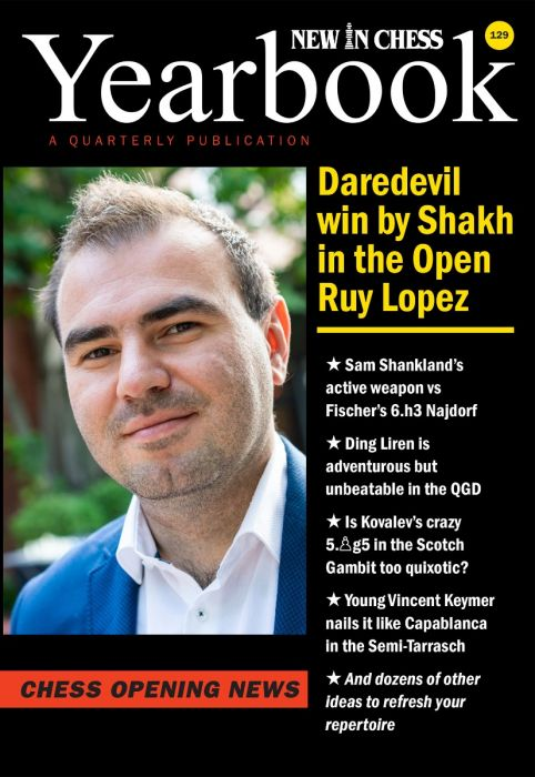 Yearbook 129: Daredevil win bij Shakh in the Open Ruy Lopez