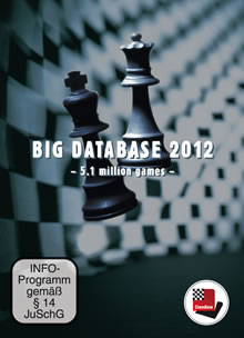 Big Database 2012 - 5,1 Millionen Schachpartien