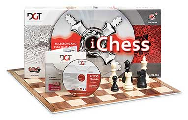 Schachset: iChessBox & Chess Trainer CD + Fritz 9