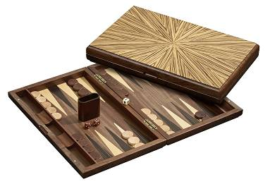Backgammon Kassette Mykonos