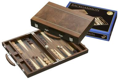 Backgammon Koffer Zante