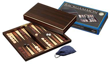 Backgammon Kassette Thira