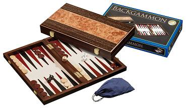 Backgammon Kassette Korfu medium