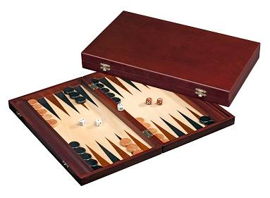 Backgammon Kassette Tilos