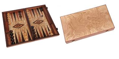 Backgammon Kassette Marmana