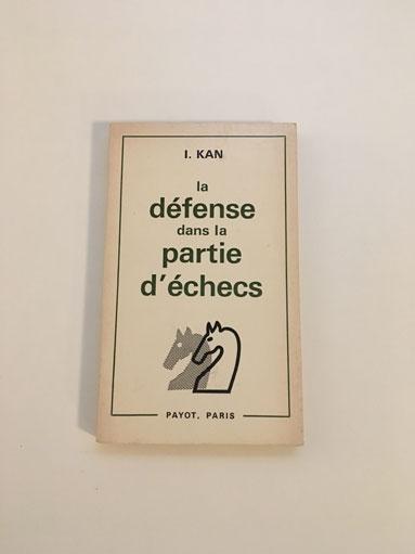 1. Kan defense dans la partie déchecs